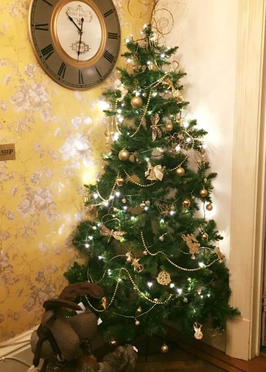 Christmas tree at abberton