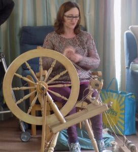 Spinning a yarn for the Next Steps Project