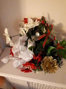 Alternative advent - table decorations