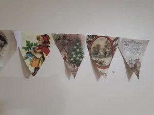 Alternative advent - festive bunting