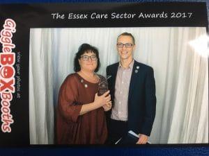 Essex Care awards photobooth 2