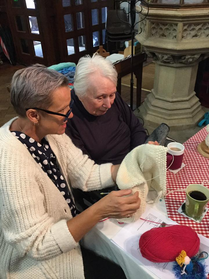day trips with the Wribbenhall Knit and Natter