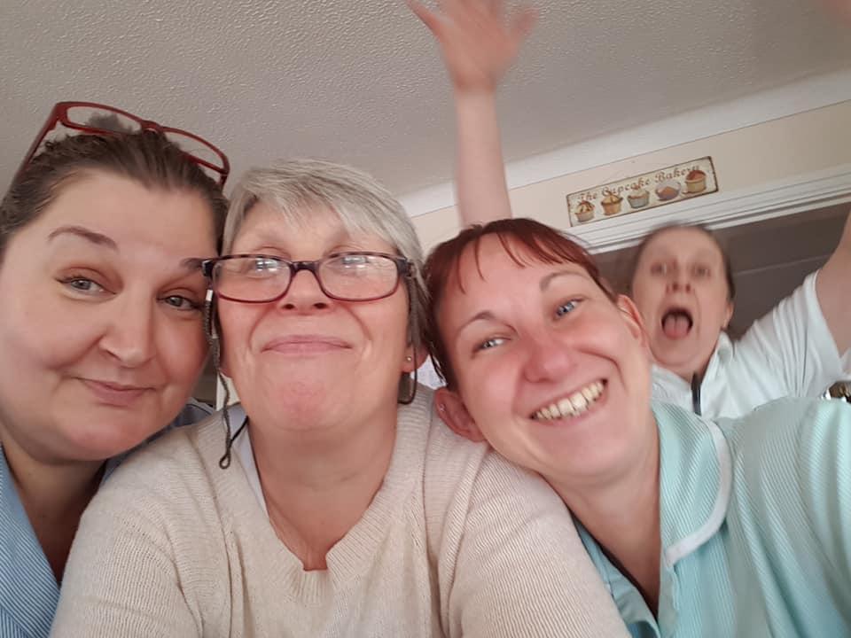 Summer fundraiser - team having a lark