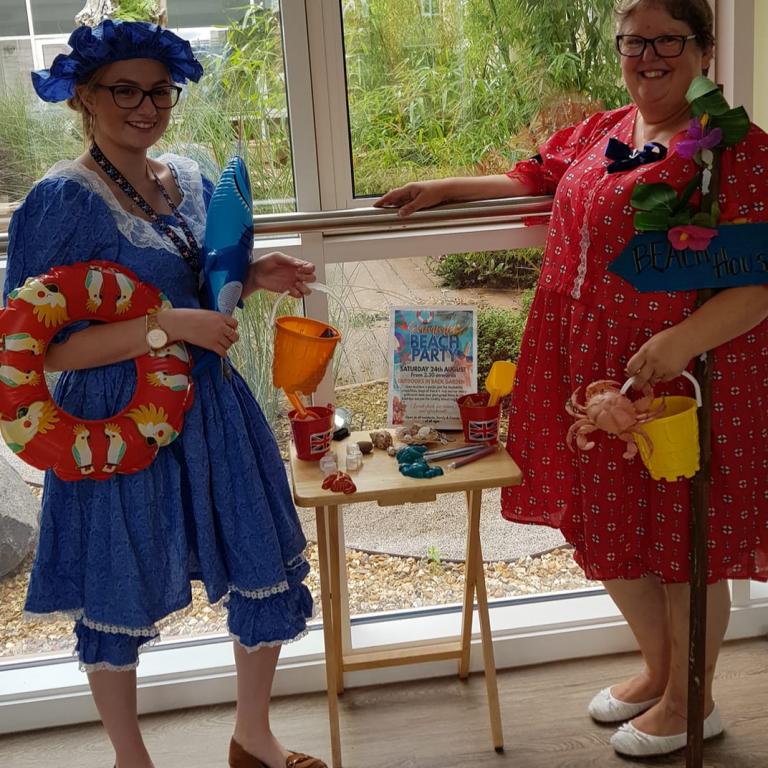 holiday memories - staff in fancy dress