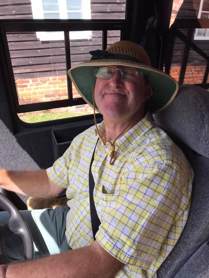 Patrick Abberton bus driver