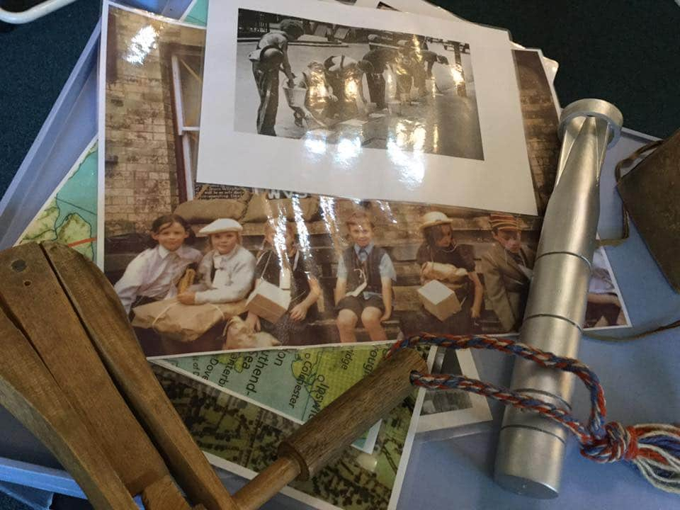 WWII images - Bewdley Museum - memory lane