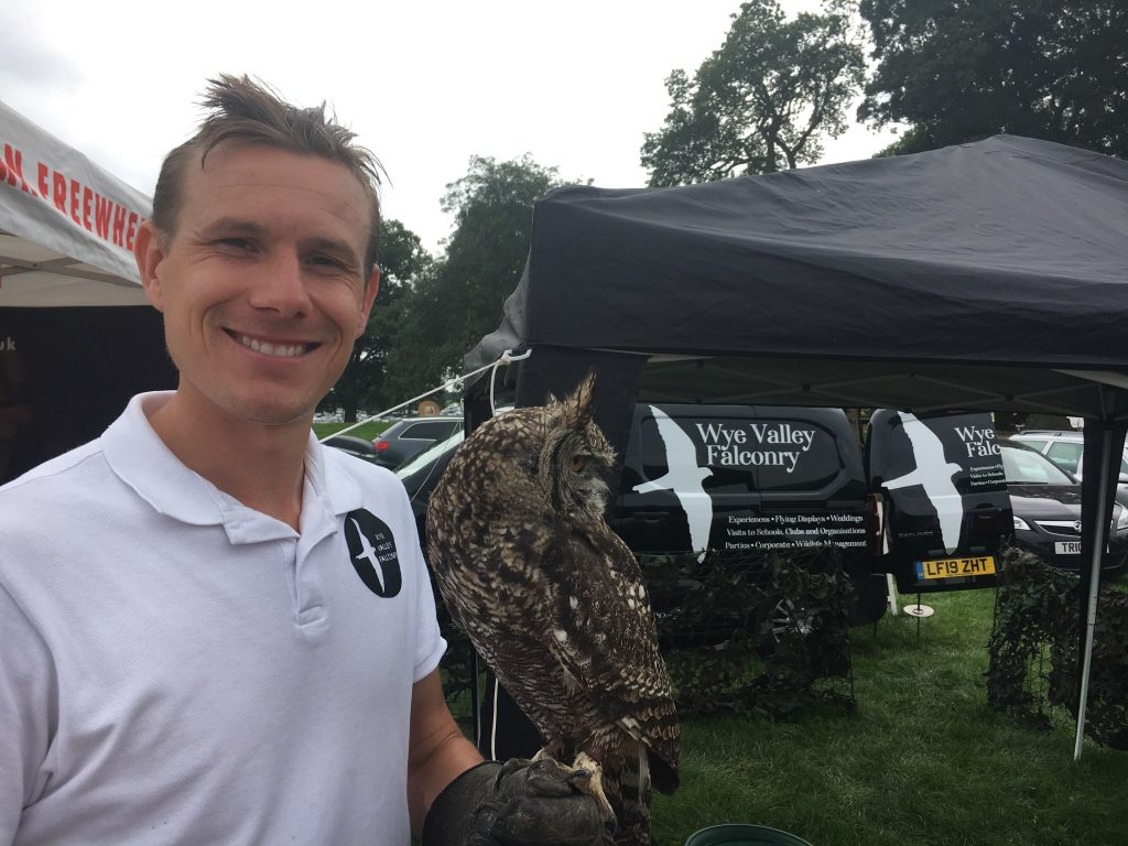 Luke - Wye Valley Falconry