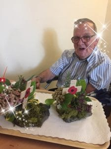 Beautiful floral tributes from Astley residents
