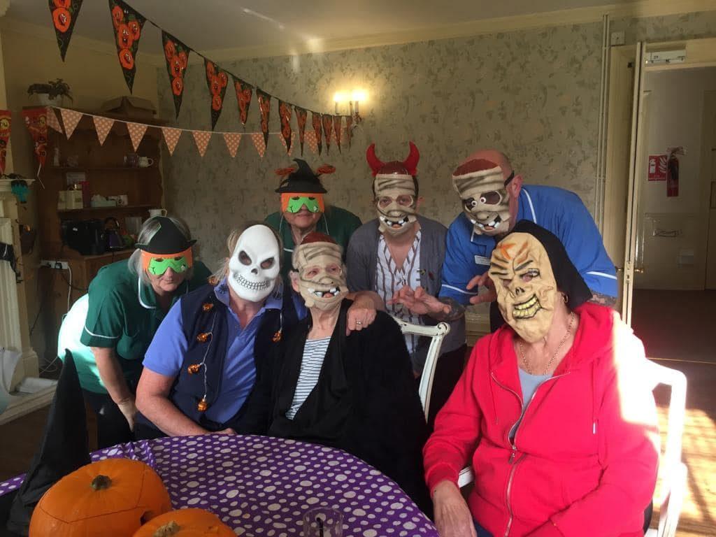 Autumn events 2019 Halloween masks