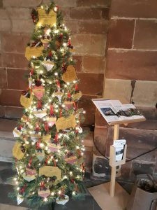 Worcester Cathedral Christmas Tree festival 2019