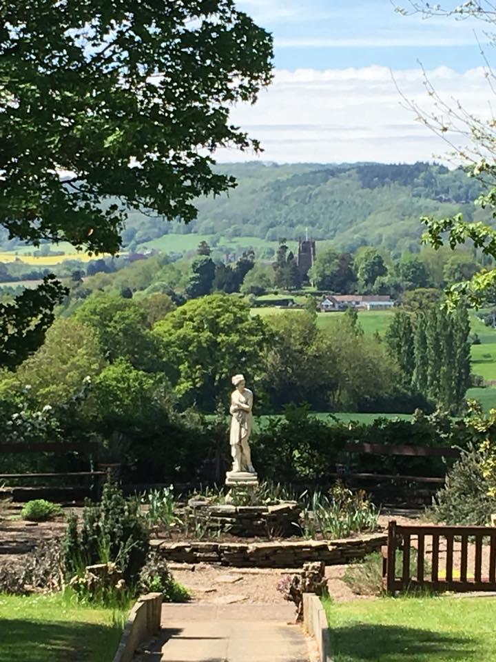 View from Astley Garden over Malvern Hills