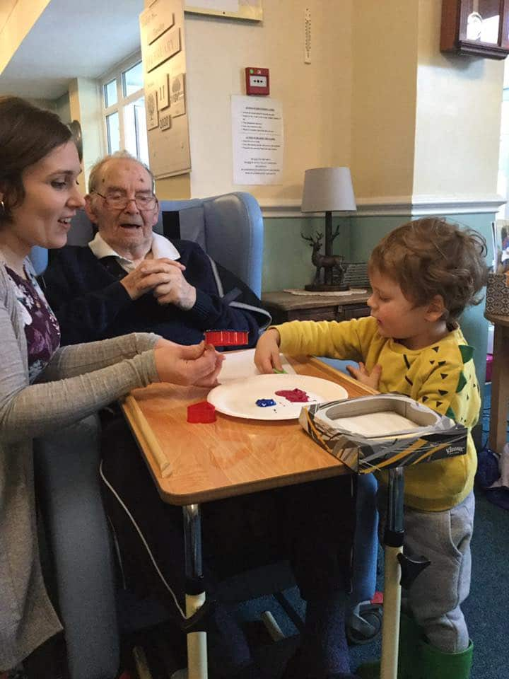 Emma and inter-generational activities