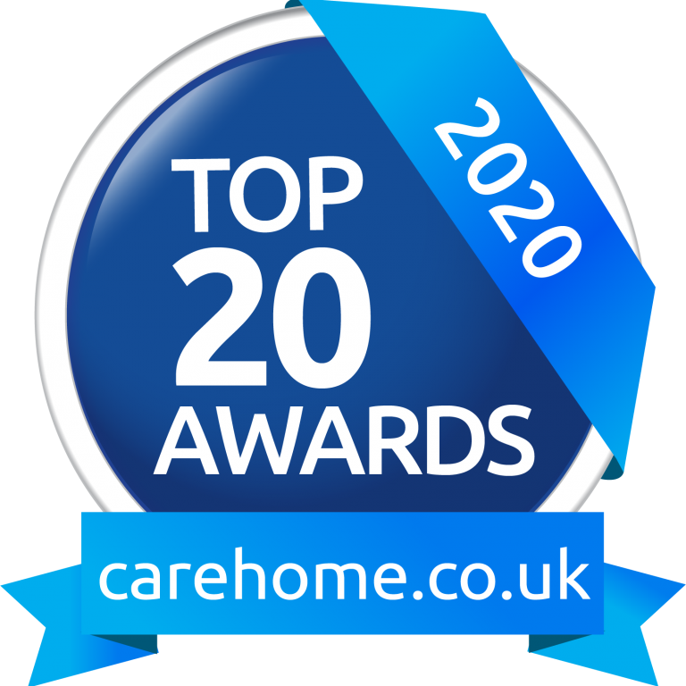 Top 20 award carehome.co.uk