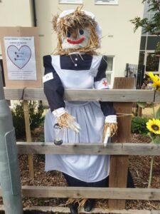 Florence Nightingal scarecrow - WI community entry