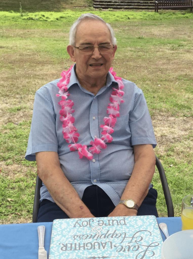 Alan - enjoying life on respite care at Abberton