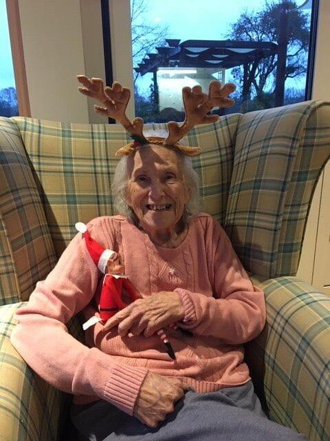 the Elf on the shelf brings Xmas cheer 1