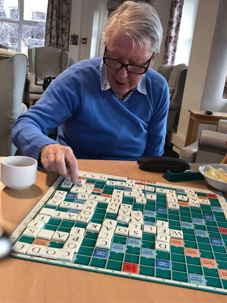 Scrabble afternoons 1