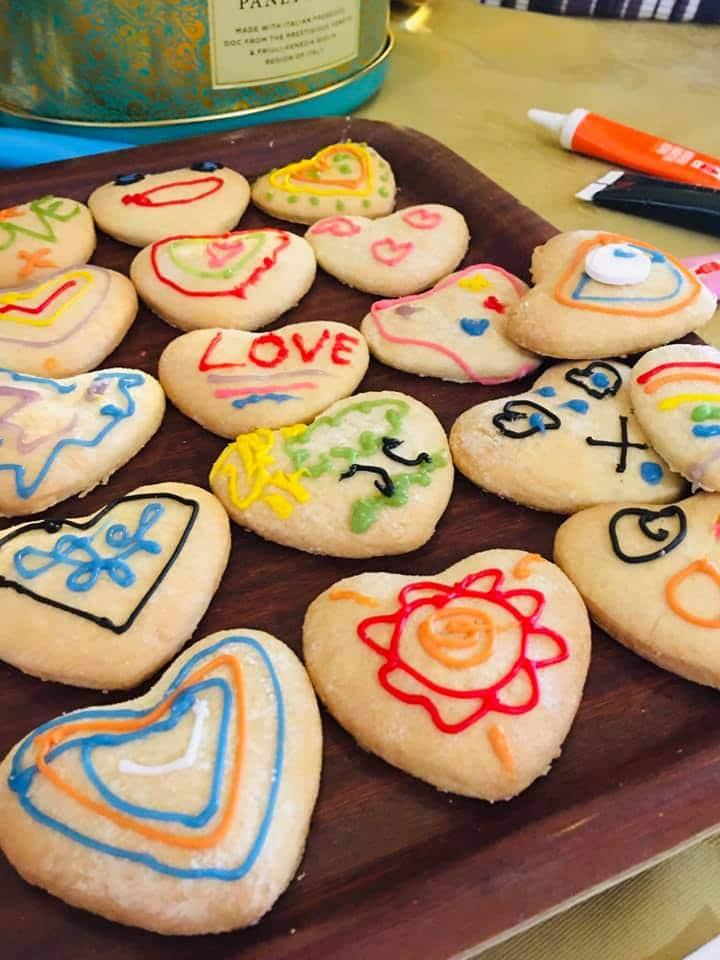 Valentines baking West Eaton