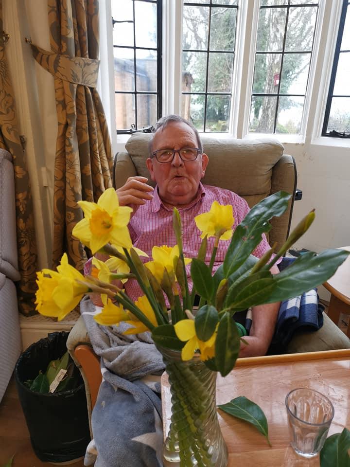 St Davids Day floristry