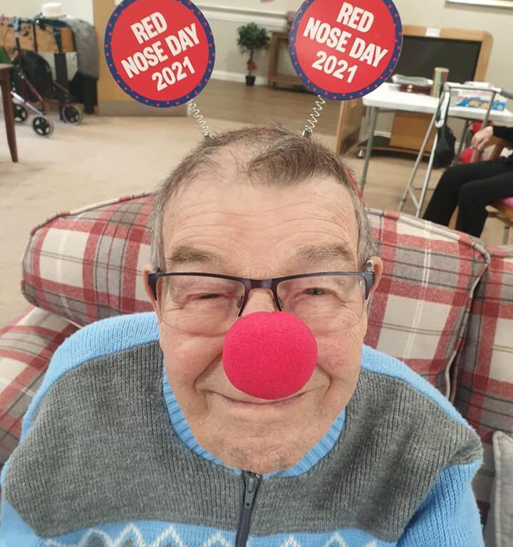red nose day gentelman