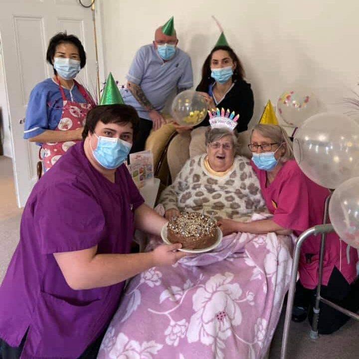 Doreens birthday celebration