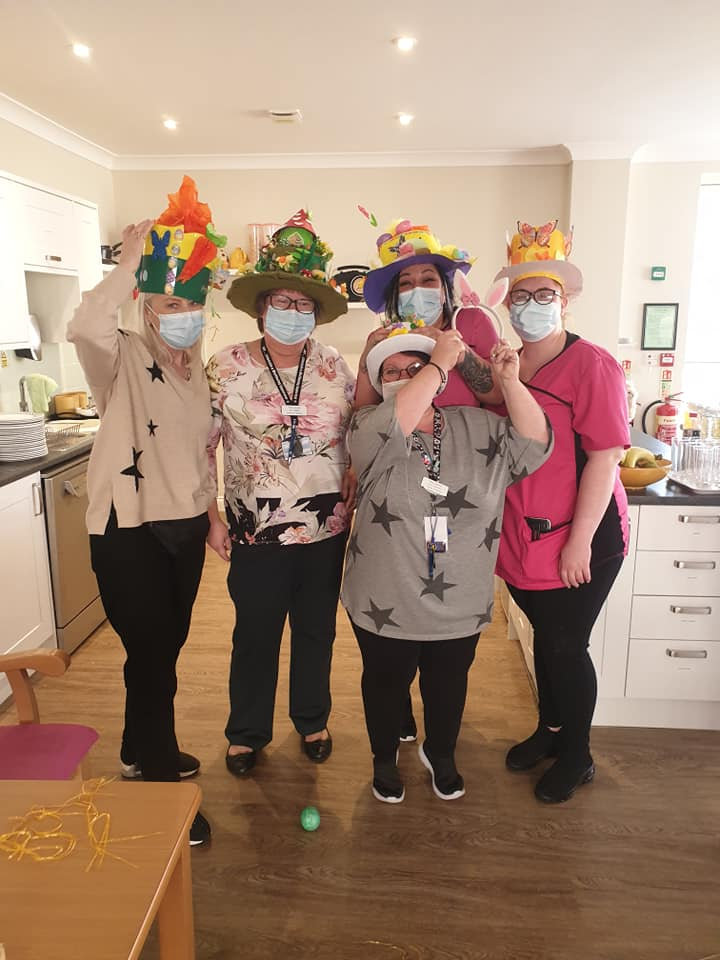 Easter hats - Team Lawns Awards nominees