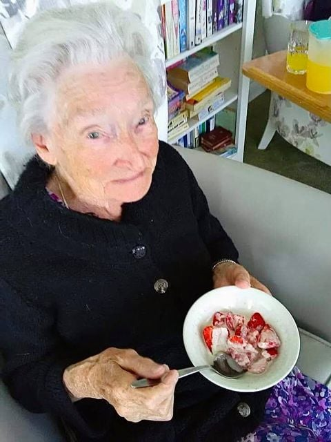 strawberries and cream for Wimbledon