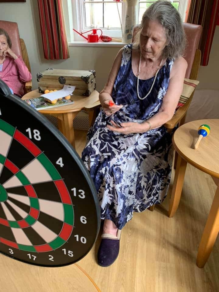 competitive darts - Astley antics