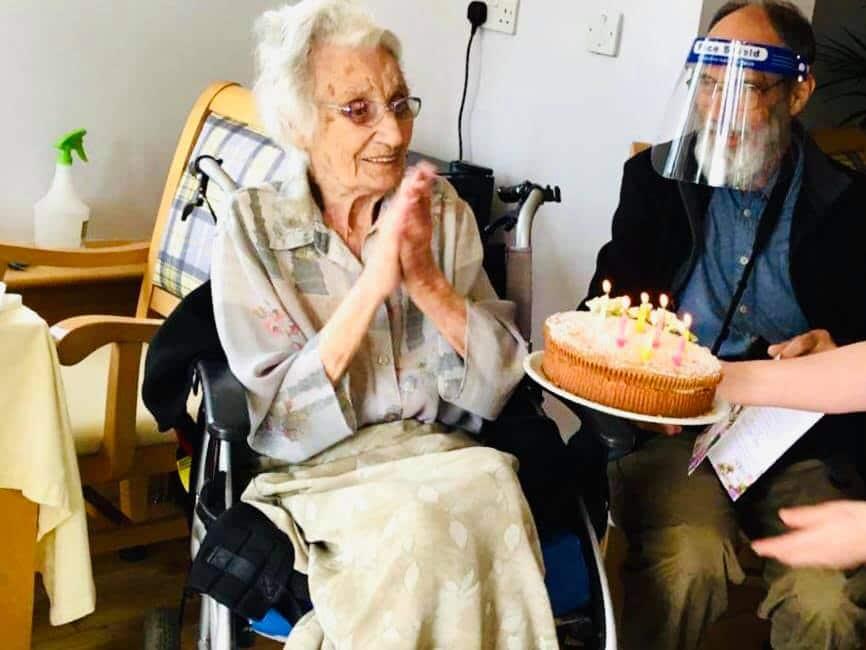 Eleanor's 102 birthday