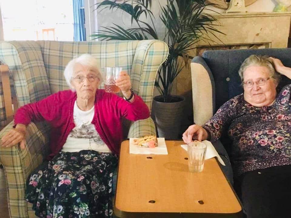Celebrating Eleanor's birthday